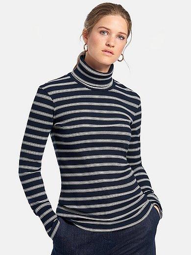MAERZ Muenchen - Shirt met col en lange mouwen