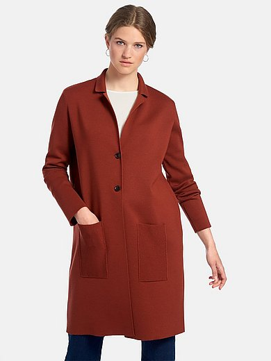 MAERZ Muenchen - Le manteau en maille 100% laine vierge