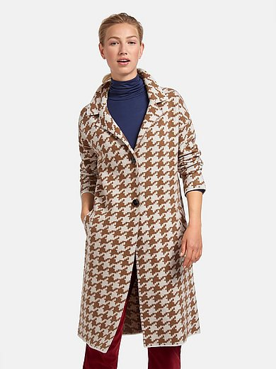 MAERZ Muenchen - Knitted coat in 100% wool