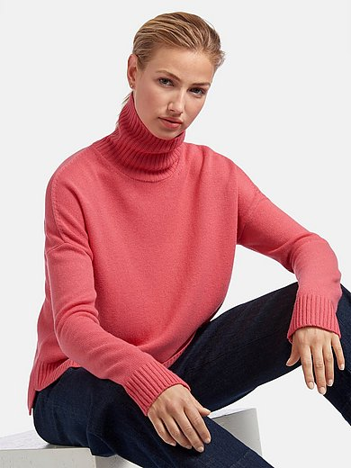 MAERZ Muenchen - Roll-neck jumper in 100% new milled wool