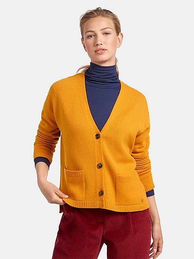 MAERZ Muenchen - Cardigan i 100% ren ny uld