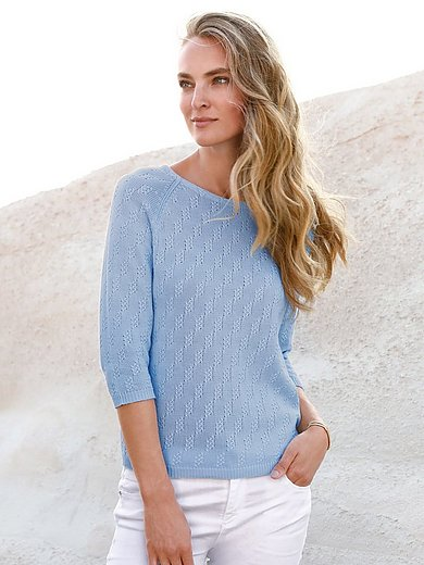 Peter Hahn - Le pull 100% coton Supima®