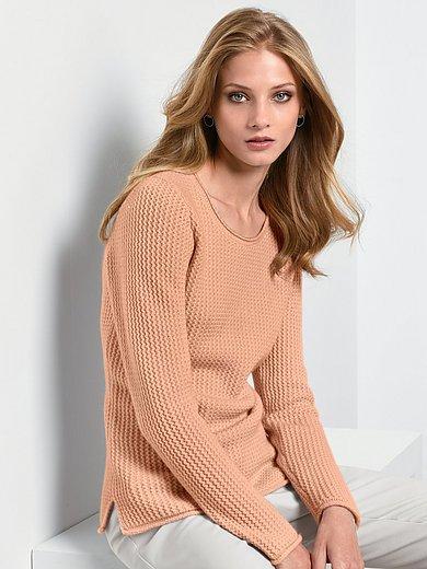 Fadenmeister Berlin - Round neck jumper in Pure cashmere in premium qual