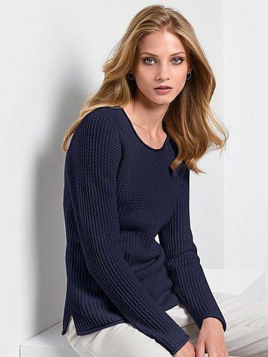 Fadenmeister Berlin - Rundhalsad tröja med lång ärm i 100% kashmir i Pre