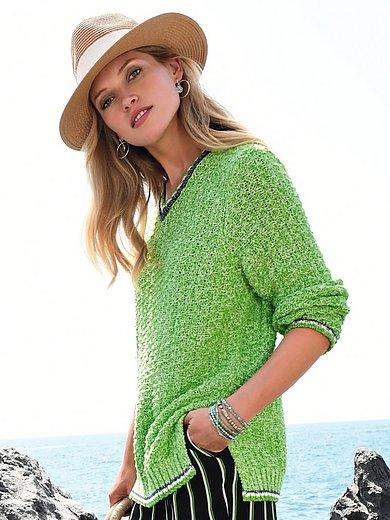 Looxent - V-ringad tröja med lång ärm