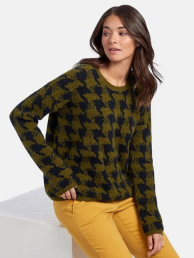 Brax Feel Good - Round neck jumper with long sleeves