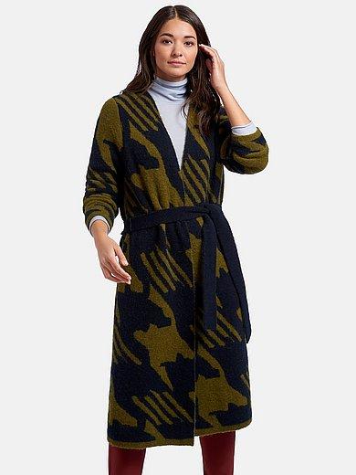 Brax Feel Good - Strikfrakke med bindebælte