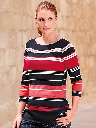 Anna Aura - Streifen-Pullover mit 3/4-Arm