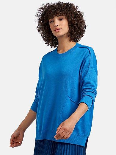 Riani - Round neck jumper in 100% wool