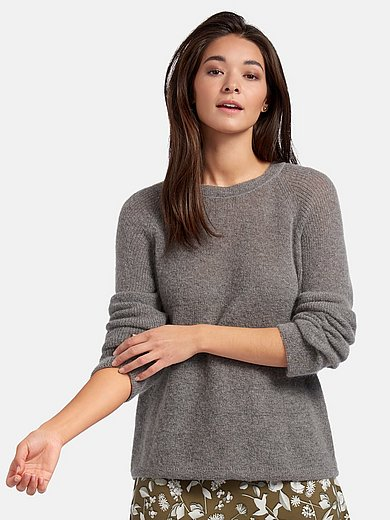 Riani - Round neck jumper with long raglan sleeves