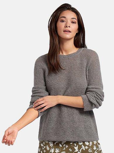 Riani - Rundhalsad tröja med lång raglanärm