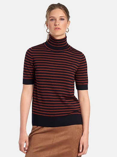 MAERZ Muenchen - Roll-neck jumper with short sleeves