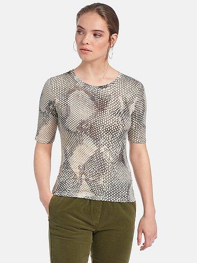 Marc Aurel - Shirt met ronde hals en korte mouwen