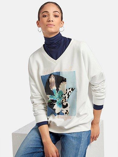 Margittes - Sweatshirt med blomstermotiv