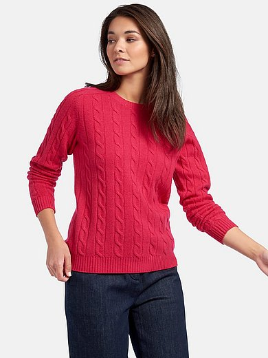 GANT - Round neck jumper in 100% wool
