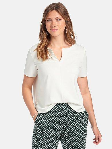 Samoon - Shirt met korte mouwen en tuniekhals