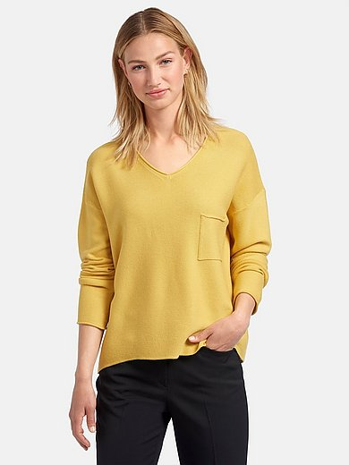 Rabe - V-neck jumper with long sleeves
