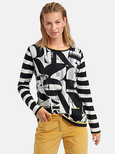 Rabe - Round neck jumper with long sleeves