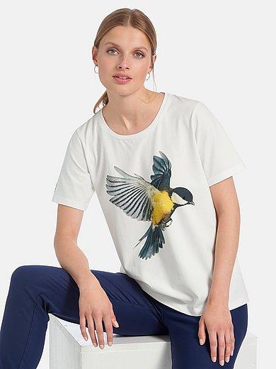 twenty six peers - Round neck top with bird print
