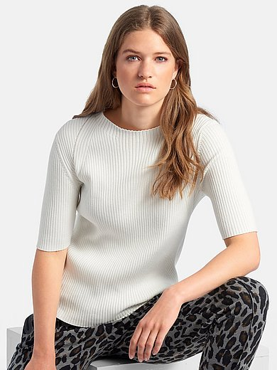 comma, - Jumper with short sleeves