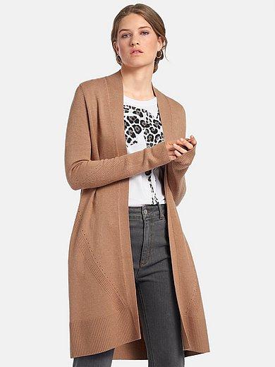 comma, - Le manteau en maille avec col châle