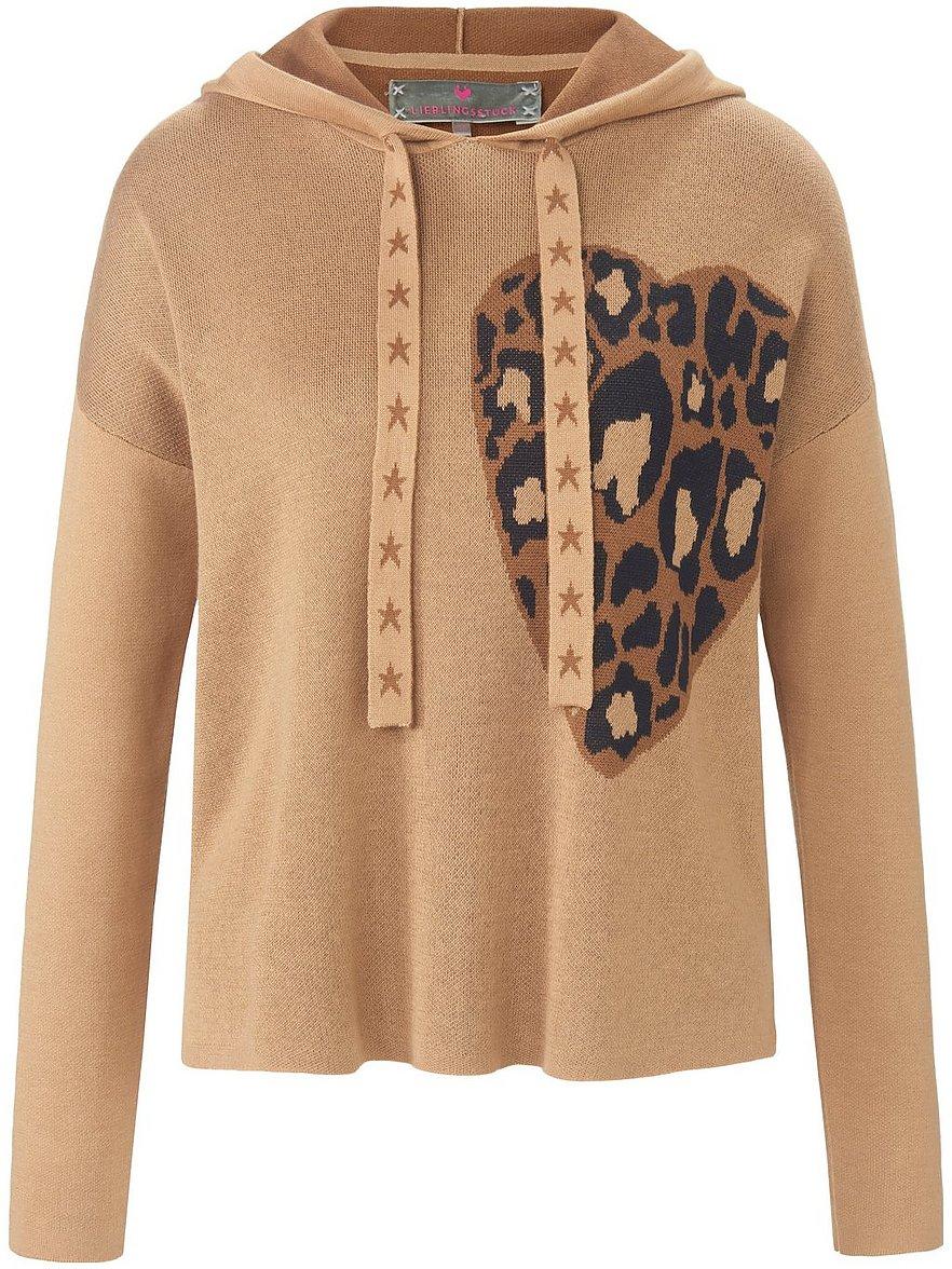 lieblingsstück - Hoodie-Pullover  braun Größe: 38