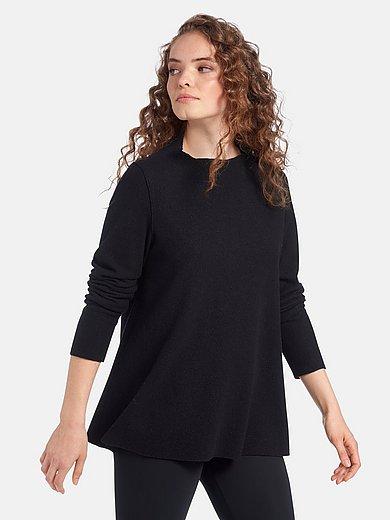 elemente clemente - Le T-shirt en laine foulée 100% laine vierge