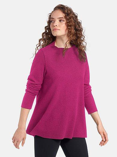 elemente clemente - Walk-shirt van 100% scheerwol met lange mouwen