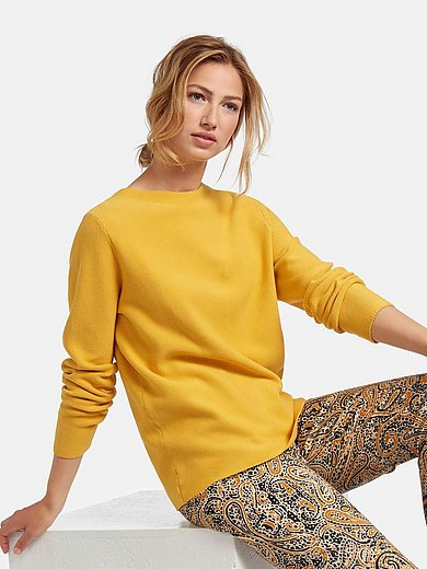PETER HAHN PURE EDITION - Jumper in 100% cotton