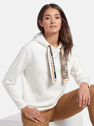 comma, - Sweatshirt med overskårne skuldre