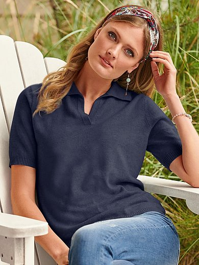 include - Polo-Pullover mit 1/2-Arm