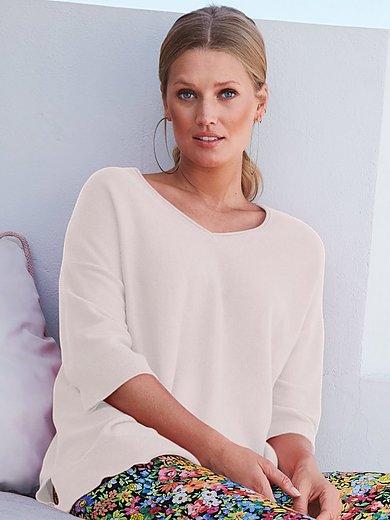 include - V-ringad tröja med 3/4-ärm