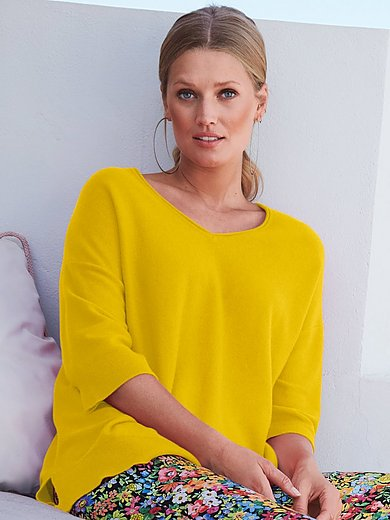include - V-Pullover mit 3/4-Arm