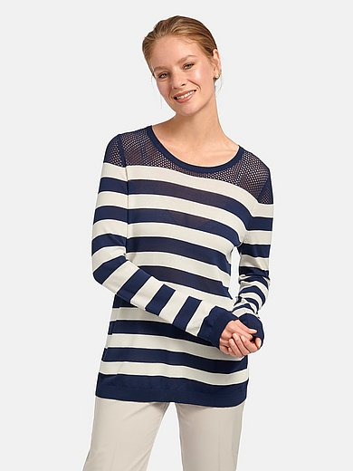 mayfair by Peter Hahn - Rundhals-Pullover