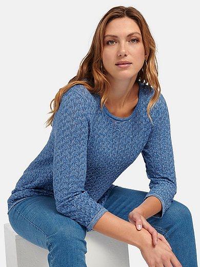 Anna Aura - Rundhals-Pullover in A-Linie