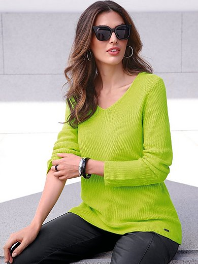 Emilia Lay - Pullover mit V-Ausschnitt