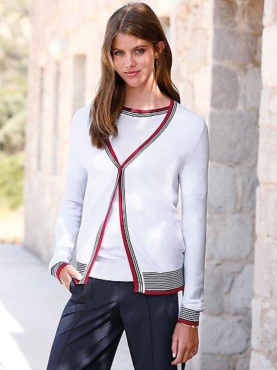 Peter Hahn - Vest van 100% SUPIMA®-katoen met V-hals