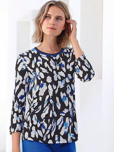 Betty Barclay - Shirt van scheerwol en kasjmier met ronde hals
