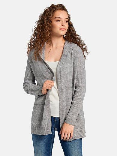 FLUFFY EARS - La veste à capuche 100% cachemire