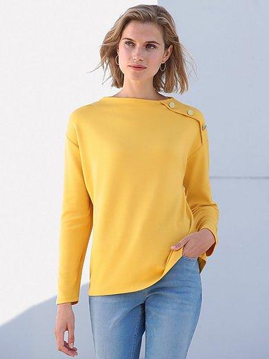 Betty Barclay - Le sweat-shirt avec boutons sur une épaule