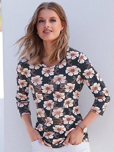 Betty Barclay - Shirt met ronde hals en bloemenprint