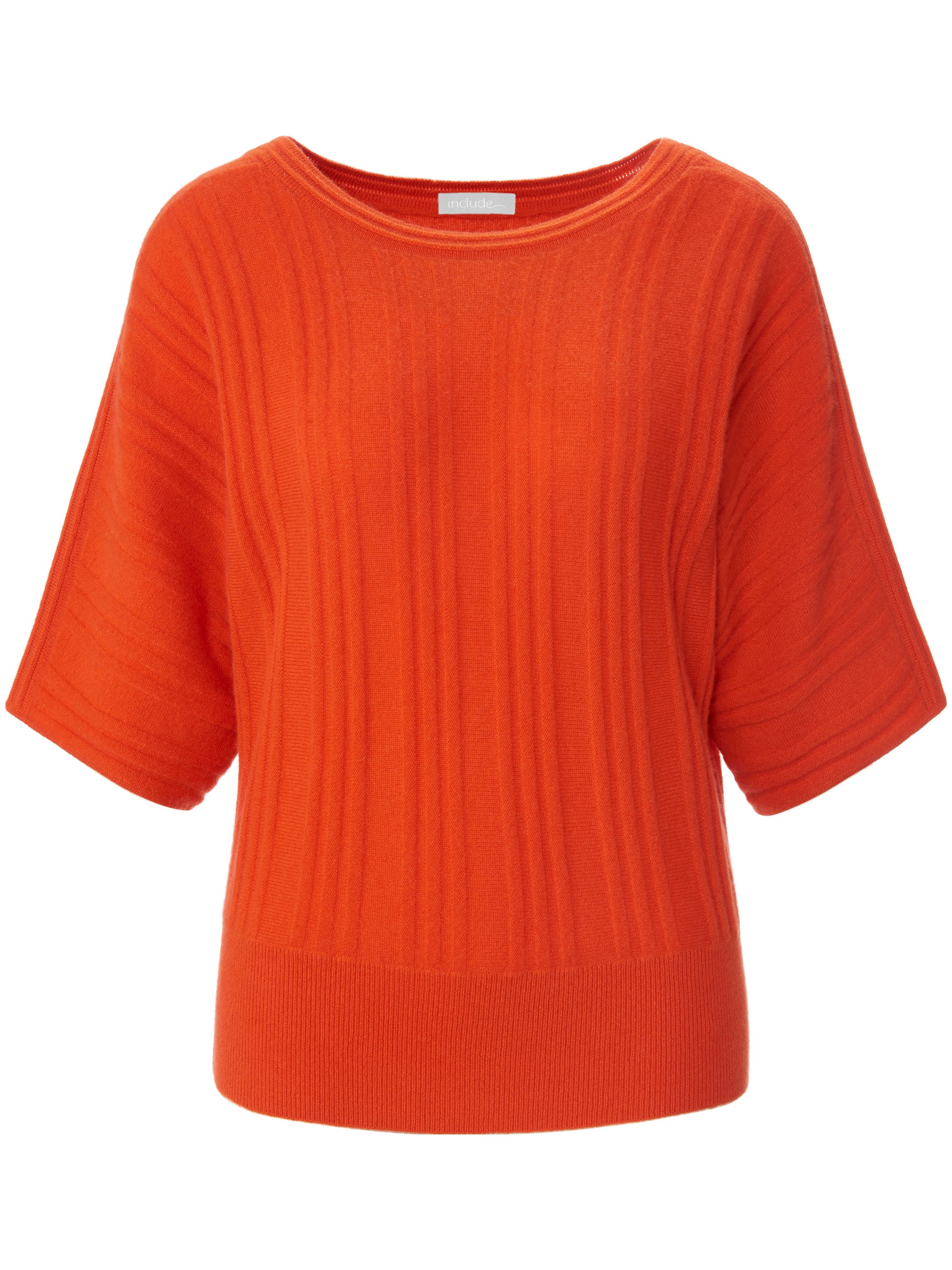 Le pull 100% cachemire  include orange