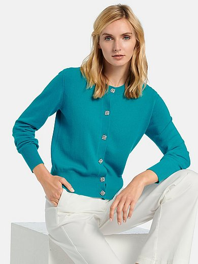 include - Long-sleeved cardigan in 100% cashmere