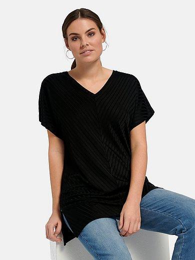 Emilia Lay - V-Shirt mit überschnittener Schulter