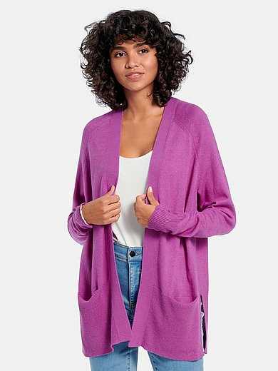 include - Cardigan in silk and cashmere