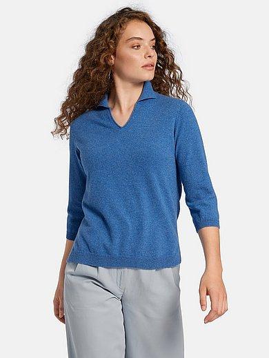 include - Polo-Pullover aus 100% Premium-Kaschmir
