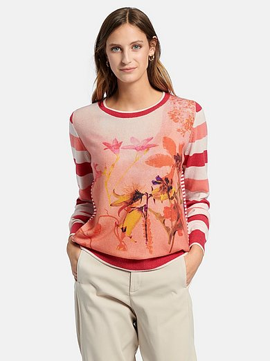 Cashmere Victim - Round neck jumper design MONA