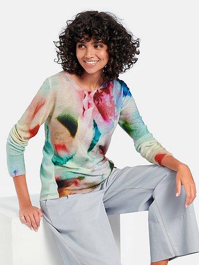 Cashmere Victim - Rundhalsad tröja modell Franziska