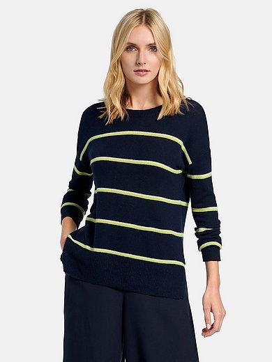include - Rundhals-Pullover aus 100% Premium-Kaschmir