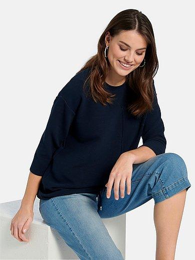 Emilia Lay - Sweatshirt met 3/4-mouwen